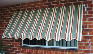 Canvas Awning photo by Andrews Blinds & Awnings